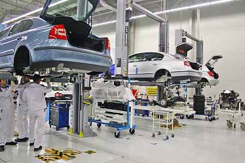 "Meet – the equipment of our car center ""ReCar"""
