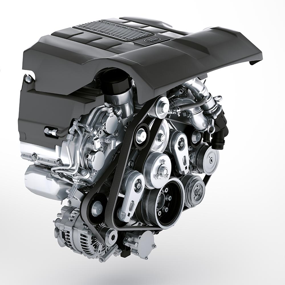 Замена цепей грм Range Rover