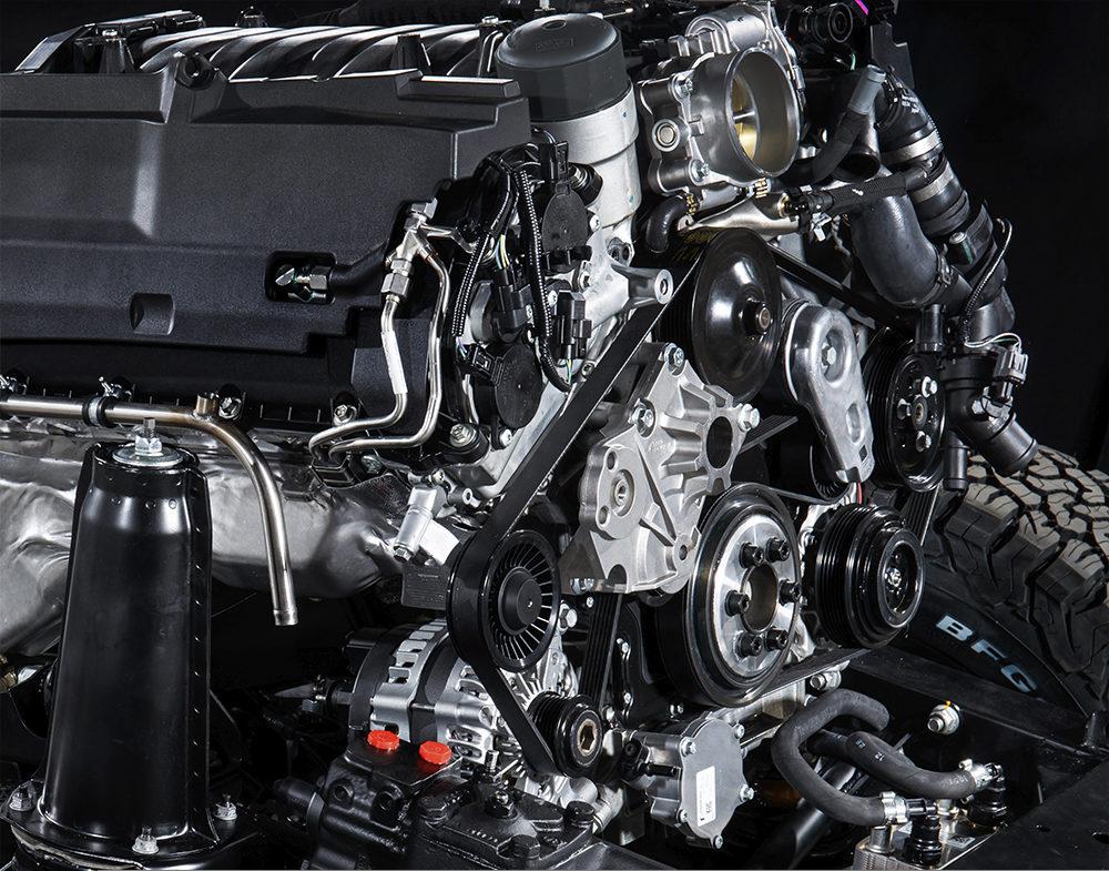 Замена ремня генератора Land Rover