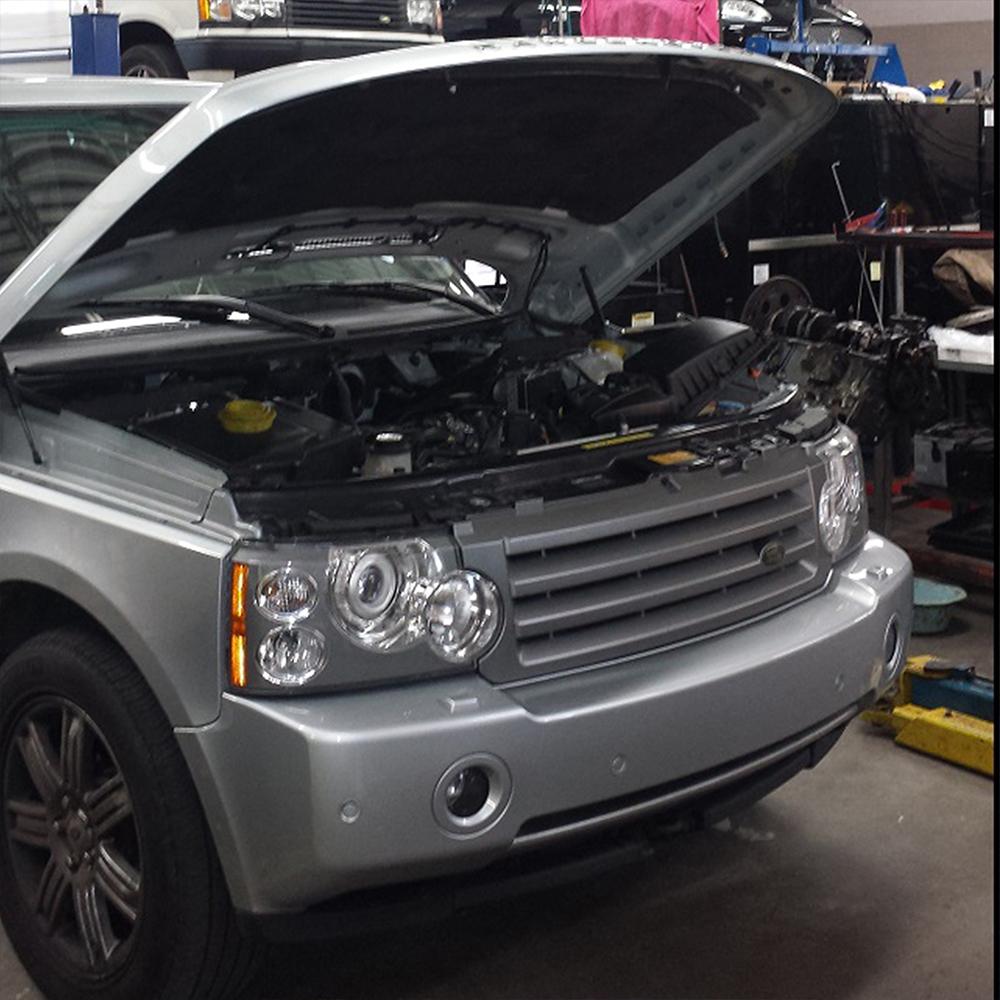 Замена бензонасоса Land Rover