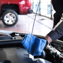 Замена масла в двигателе Range Rover