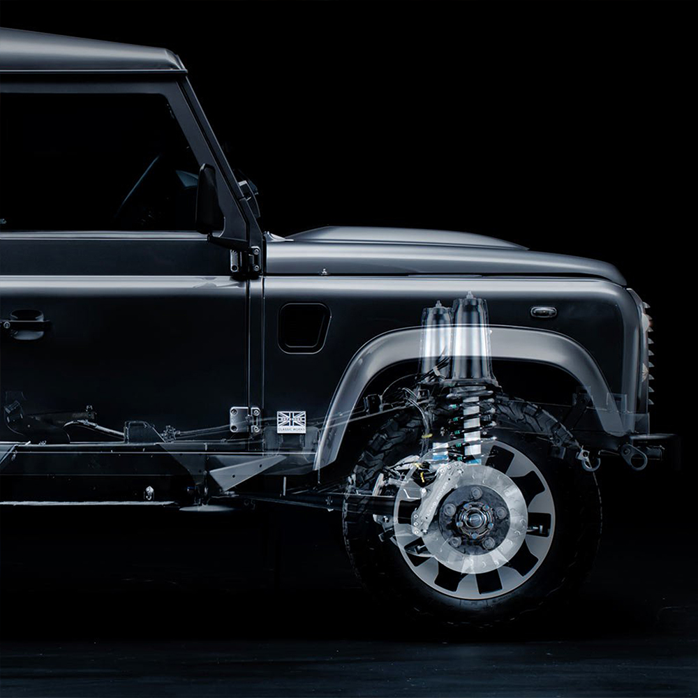 Калибровка пневмоподвески Land Rover