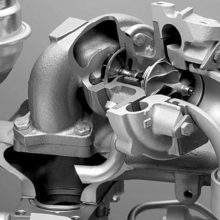 Ремонт и замена турбины Range Rover