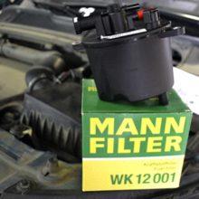 Замена фильтров Range Rover