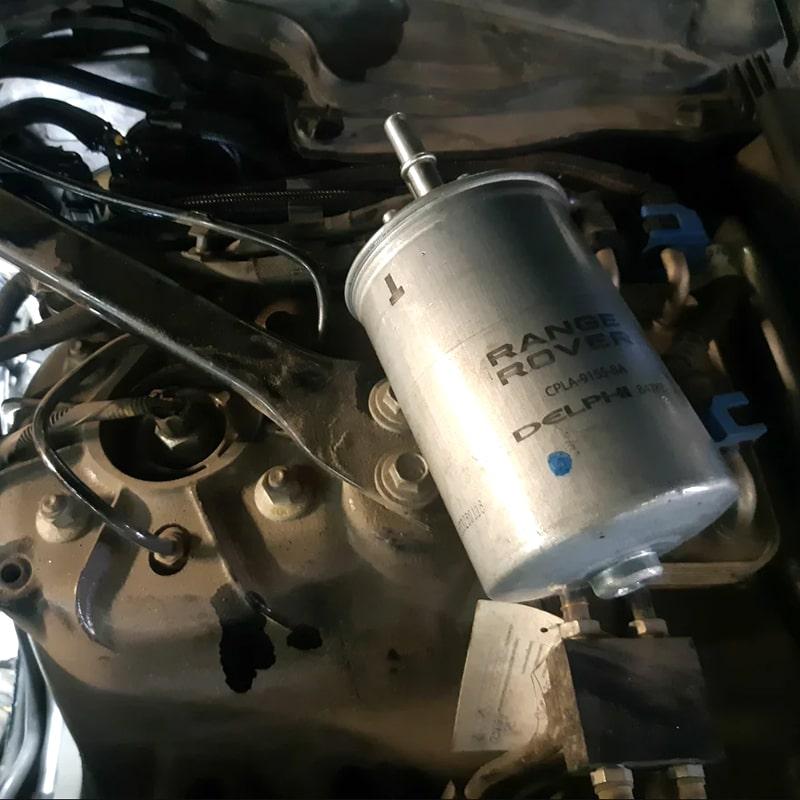 Range Rover Замена фильтров