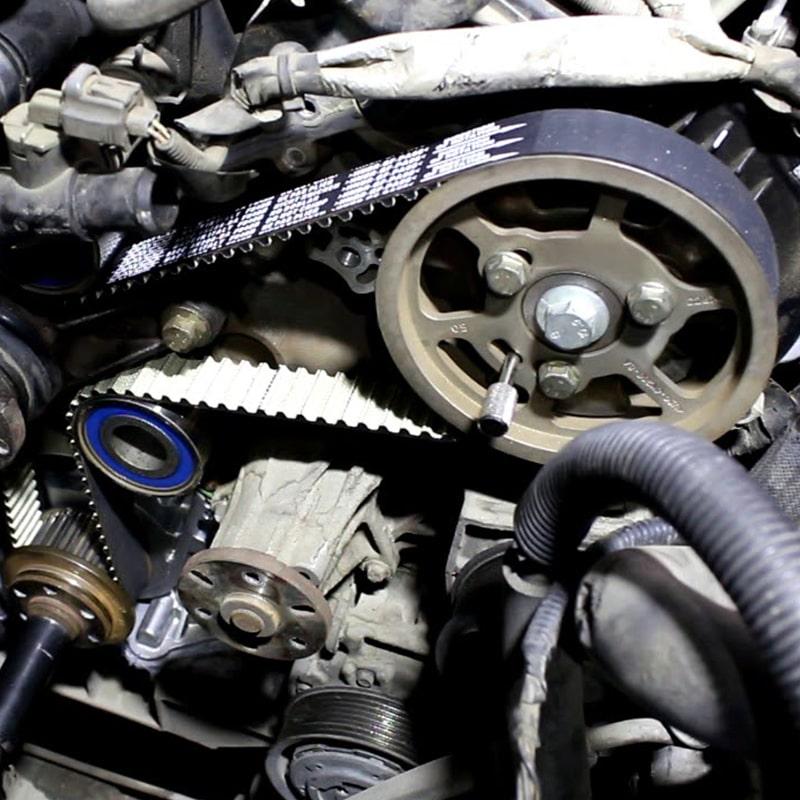 замена ремня ГРМ на Range Rover