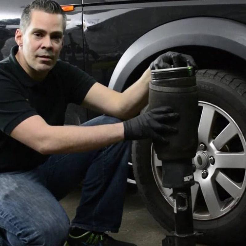 Range Rover замена пневмобаллонов