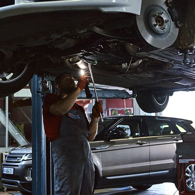 Ремонт пневмостоек Range Rover