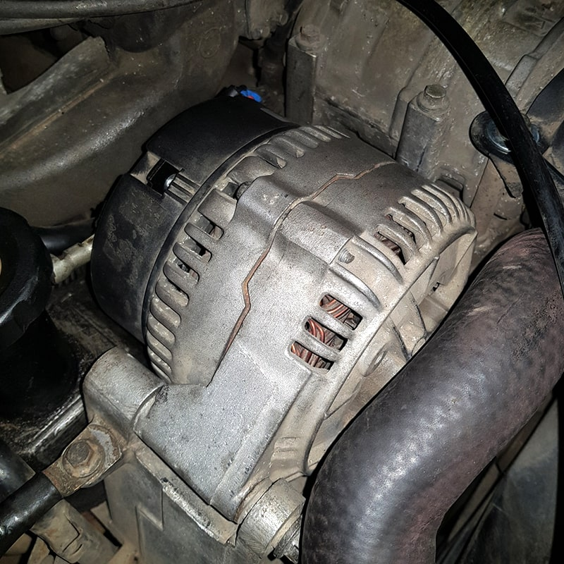 Ремонт и замена генератора Range Rover